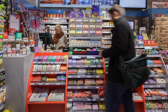 Zeitungskioske in der Schweiz mit Kreditangebot