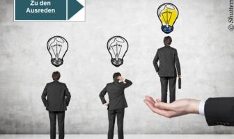 Vielfältige Ausreden zur Abwehr von Innovationen
