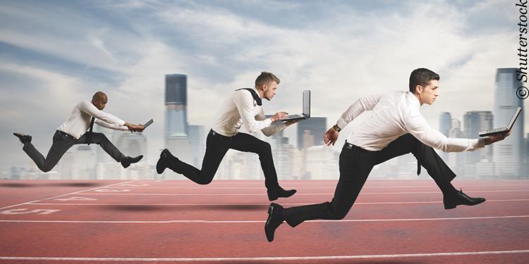 FinTech Unternehmen und etablierte Banken im Wettbewerb