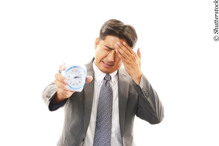 Mitarbeiter klagen oft über Zeitmangel