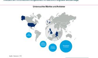 Vielfältige internationale Angebote zur digitalen Geldanlage