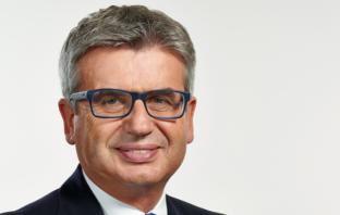 Hans Rudolf Zeisl, Vorsitzender des Vorstands der Volksbank Stuttgart.