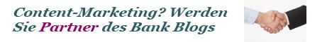 Schließen Sie eine Partnerschaft mit dem Bank Blog