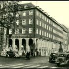 Außenansicht der Sparkasse Bielefeld 1957