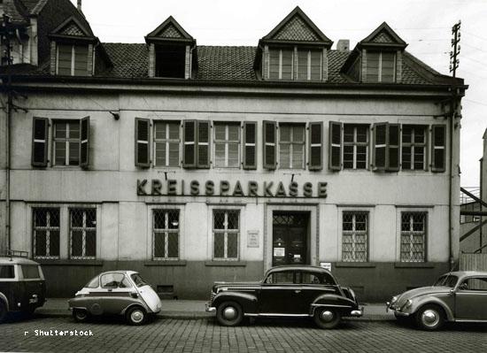 Sparkassen Zweigstelle Frechen 1955