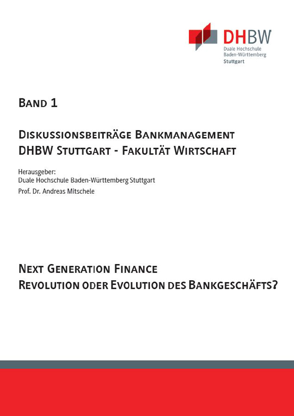 Diskussionsbeitrage Next Generation Finance