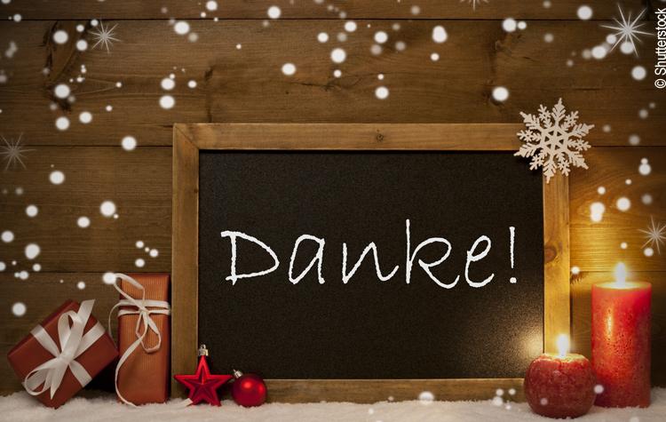 Frohe Weihnachten und einen guten Rusch