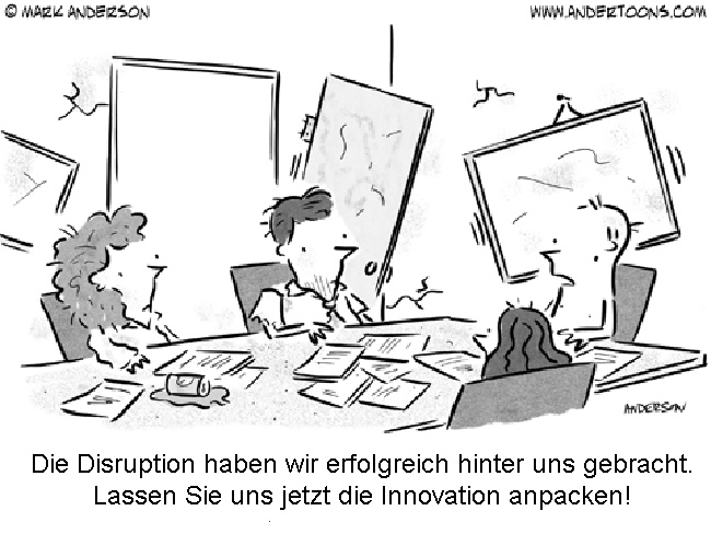 Innovative Disruption in Banken und Sparkassen