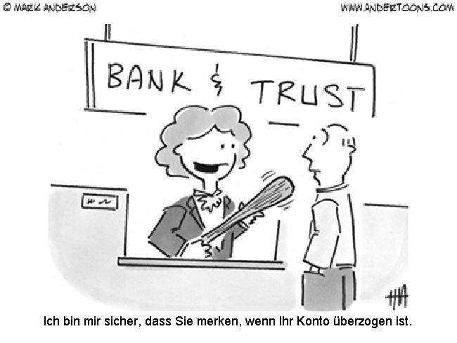Banken überprüfen Girokontomodelle