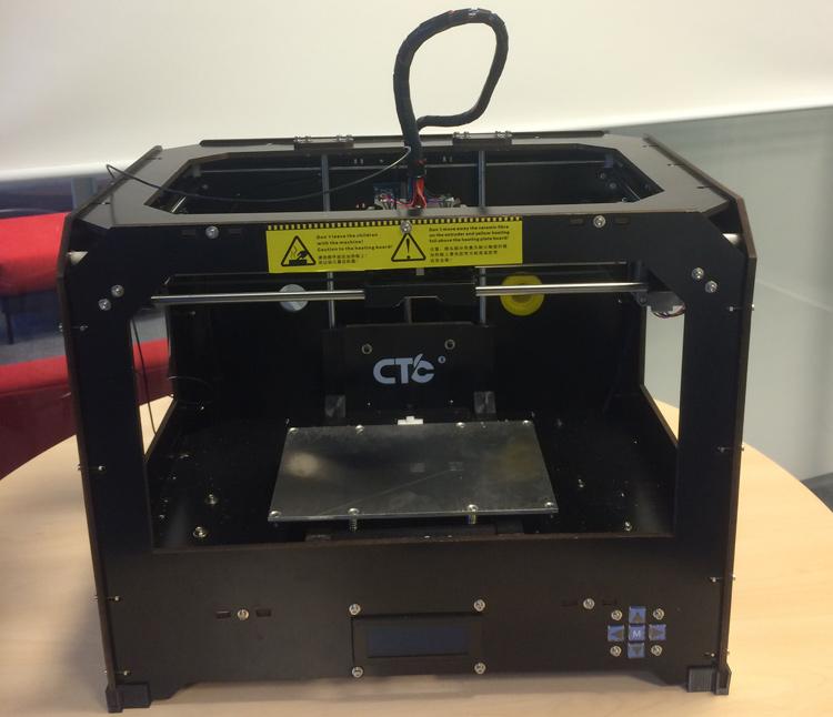 3D-Drucker Aussenansicht