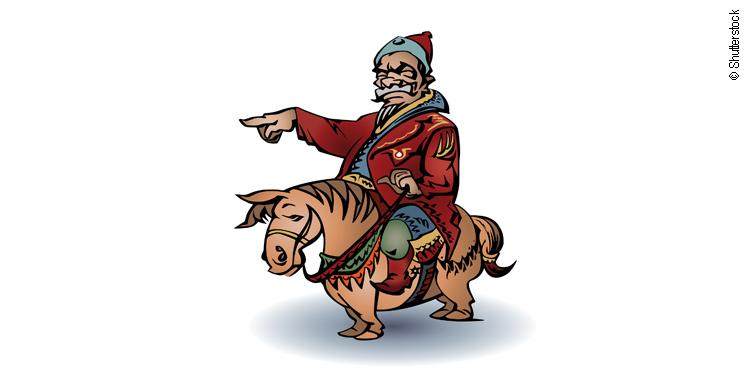 Attila der Hunnenkönig und die Banken