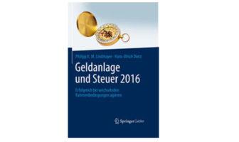Buchtipp: Geldanlage und Steuer 2016