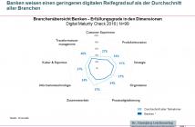 Digitaler Reifegrad von Banken im Jahr 2016