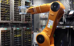 MonRo der Bank-Roboter - Innenansicht