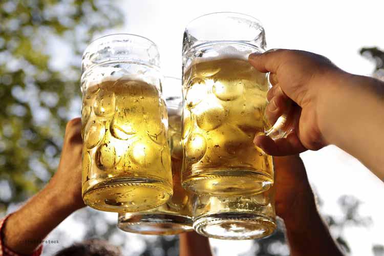 In bayerischen Biergärten benötigt man Bargeld
