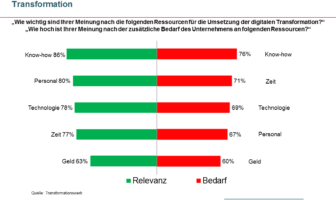 Kritische Ressourcen bei der digitalen Transformation