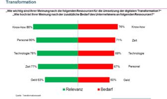 Kritische Ressourcen bei der digitalen Transformation