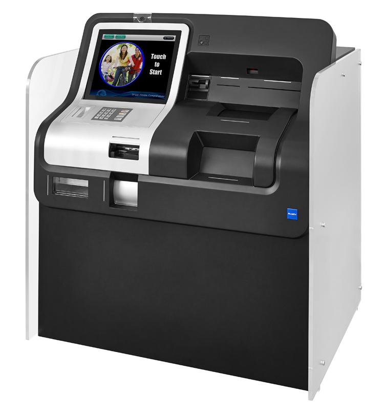 SB-Bankautomat zur Kundenselbstbedienung