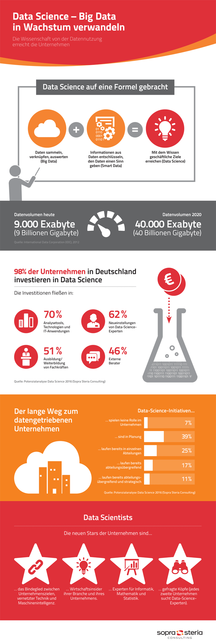 Infografik Big Data und Data Science