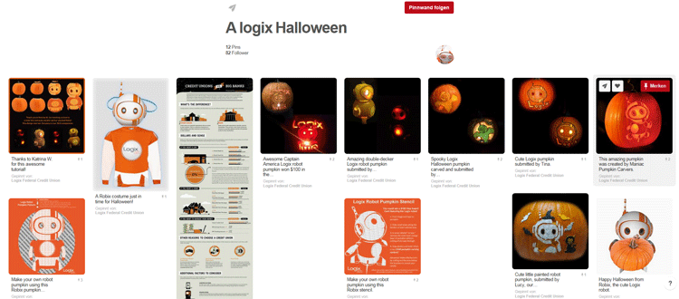 Halloween Marketing auf Pinterest