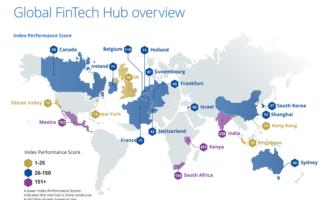 Analyse globaler FinTech-Standorte