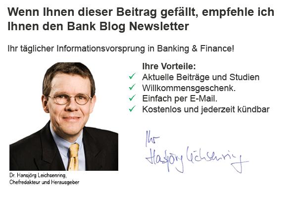 Kostenloser Newsletter für aktuelle Banking Trends