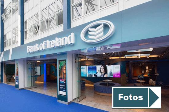 Details der Bankfiliale in der Universität