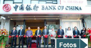 Eröffnung einer Bankfiliale in China