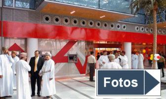 Die Eröffnung der neuen Bankfiliale der BankMuscat im Oman