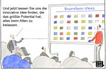 Brainstorming für mehr Innovation