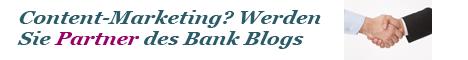 Schließen Sie eine Content Marketing Partnerschaft mit dem Bank Blog
