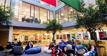 Google Open Space Büro