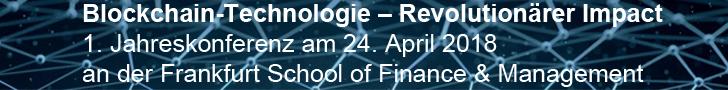Konferenz Blockchain-Technologie