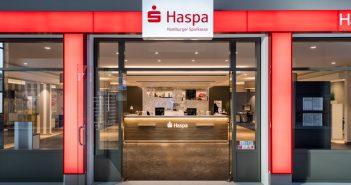 Haspa präsentiert neues Design für Bankfilialen