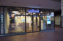 Außenansicht der neue Valiant Geschäftsstelle