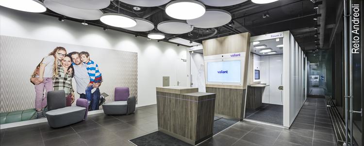 Eingangsbereich der neuen Konzeptfiliale