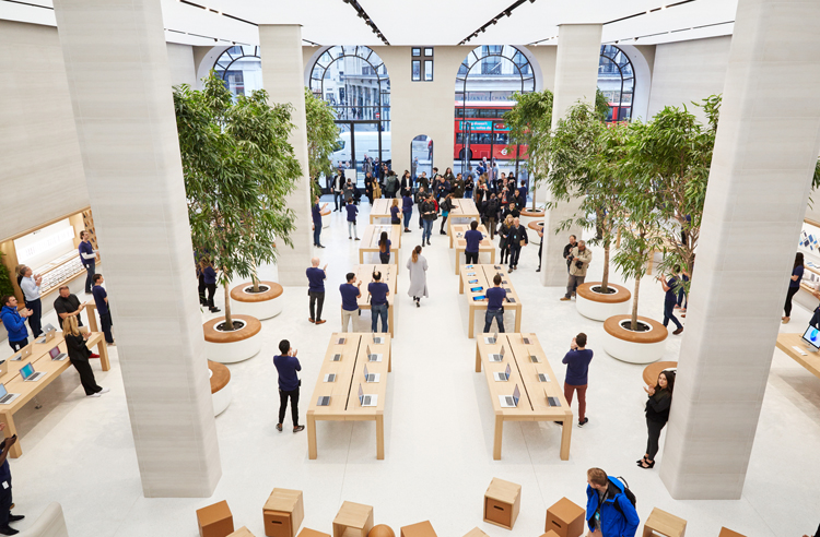 Apple-Store in London, Regent Street