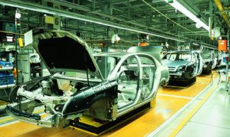 Banken und Automobilindustrie