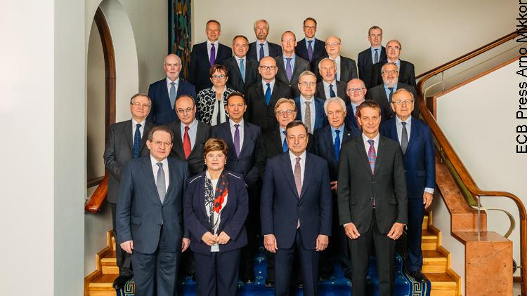 Sitzung des Rates der Europäischen Zentralbank