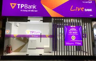 Video-Bankfiliale in Vietnam