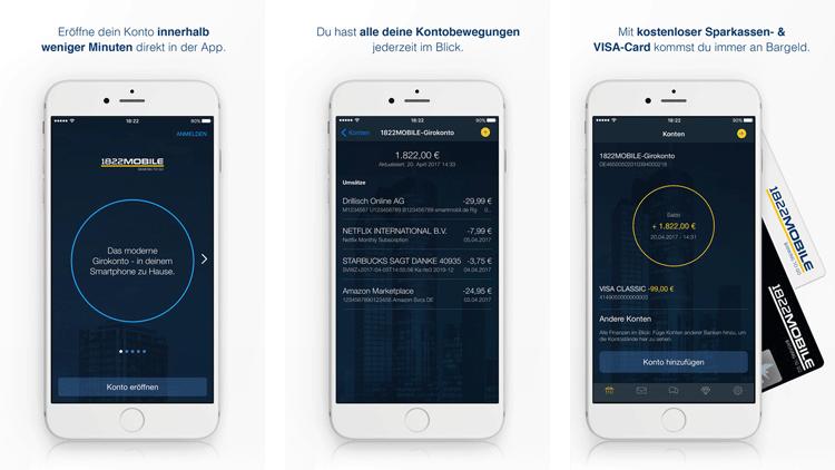 Mobile Banking App 1822direkt