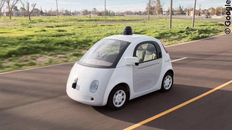 Autonomes Google Car