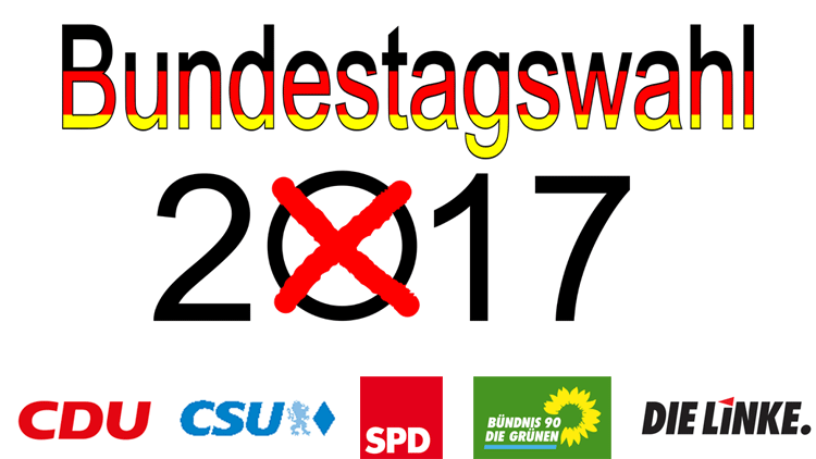 Parteien zur Bundestagswahl 2017