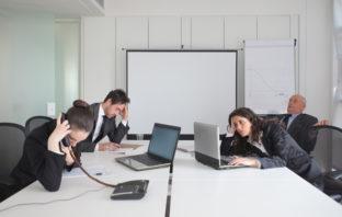 Meetingwahn in Unternehmen