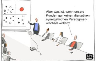 Bankkunden und Innovation