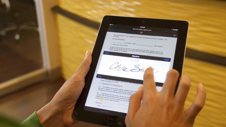 Digitale Signatur im Banking