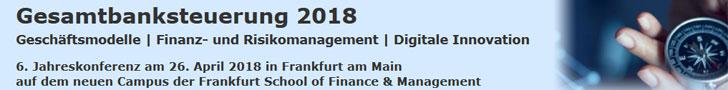 Frankfurt School Konferenz Gesamtbanksteuerung 26. April 2018