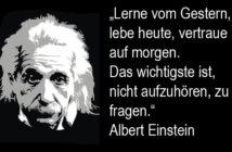 Albert Einstein über das Finden der richtigen Strategie