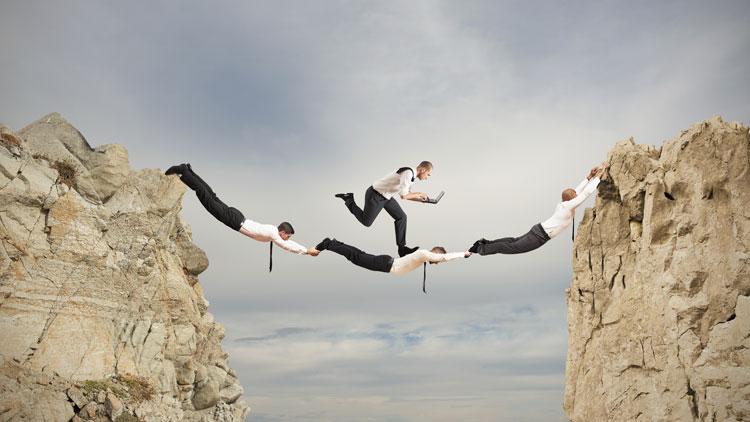 Gutes Teamwork macht Unmögliches möglich