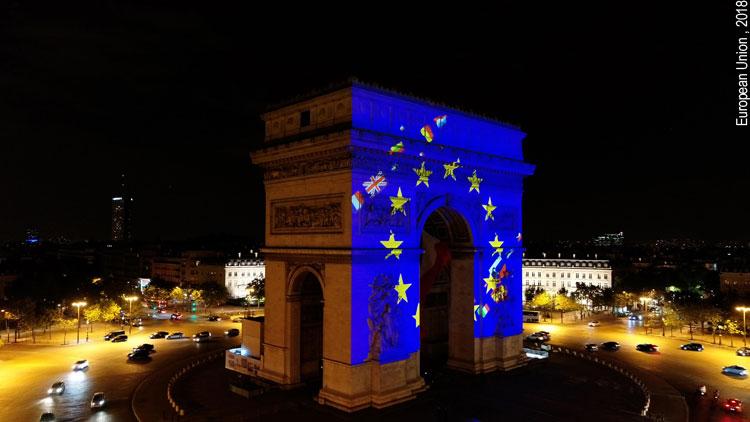 Druck zur Reform der Europäischen Union aus Frankreich